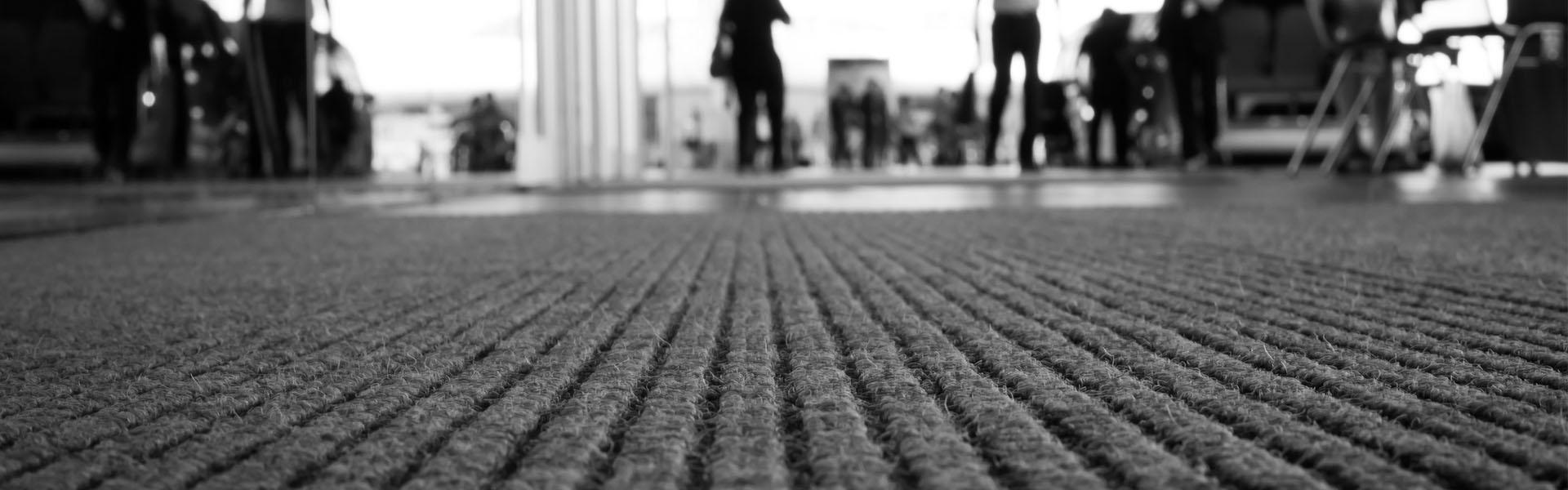 sauberer Teppich