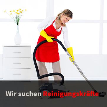 Staubsaugende Reinigungskraft